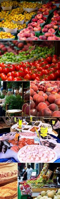Parisian greenmarket