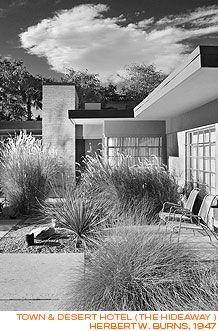 Palm Springs, California, mid-century, modern, architecture
