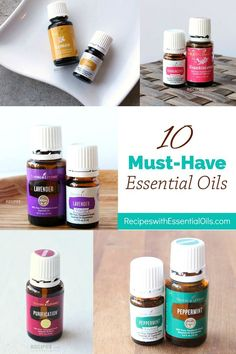 Everyday Tips & Recipes for Using 10 Must-Have Essential Oils from RecipeswithEssentialOils.com