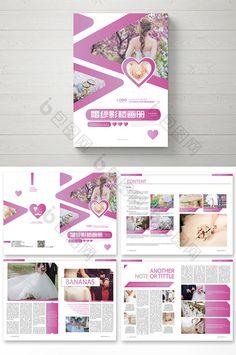 High-end fashion wedding photography brochure Brochure Design, Brochure Template, Flyer Design, Layout Design, Photography Brochure, High End Fashion, Magazine Design, Booklet, Wedding Styles