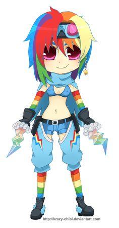 Pin Little Pony Cute Sexy On Rainbow Danger Dash