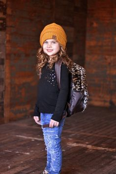 Animal Fur Back Pack Shop stylish girls clothing, boys clothing and kids accessories and jewelry at RyleighRueClothing.com, a new childrens store from Modern Vintage Boutique.
