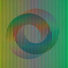 9 Up Agamograph by Yaacov Agam