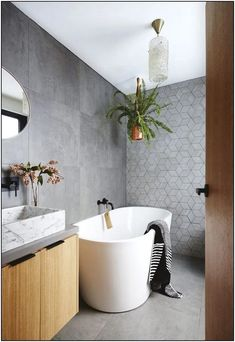 20 contemporary bathroom design ideas, Looking to update a tired bathroom? Creating a contemporary bathroom is not just about using on-trend tiles, finishes and fixtures, but is about seaml. Bathroom Renos, Bathroom Renovations, Bathroom Faucets, Bathroom Ideas, Bathroom Mirrors, Bathroom Organization, Gold Bathroom, Remodel Bathroom, Bathroom Cabinets