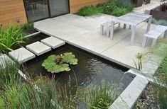 Gartenteich Pflanzen Seerosen schöne Bilder Ideen