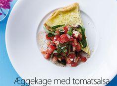 Æggekage med tomatsalsa   Femina