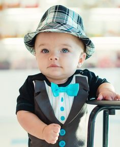 Aiden Black Plaid Fedora I need this for my baby boy!!