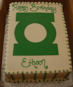 Green Lantern cake Cupcakes, Cupcake Cakes, Green Lantern Cake, Avenger Cake, Superhero Cake, Birthday Cakes, Birthday Ideas, Lanterns, Birthdays