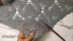 TIĞ İŞİ KOZALAK ŞAL YAPIMI #Kolay Üçgen Şal Modelleri / CROCHET CHAL TRİANGULAR - YouTube Crochet Shawl, Diy And Crafts, Stitch, Youtube, Full Stop, Crochet Scarfs, Youtubers, Sew, Stitches