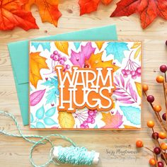 One Stamp Five Ways: Autumn Leaves - Simon Says Stamp Blog
