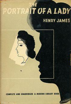 The Portrait of a Lady book jacket by E. McKnight Kauffer
