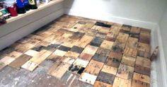 1000 Ideas About Wood Pallet Flooring On Pinterest