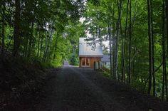 Small Modern Polygon Cabin with Loft  Photo