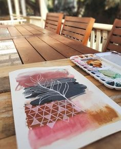 Coming up for air (and sunshine 😎) after being down a Squarespace rabbit hole for the past few days. New website is coming along but I have been told that I need to step away from the computer for my sanity and everyone around me 🤯. Watercolor Artists, Watercolor Paintings, Watercolours, Collages, Painting For Kids, Botanical Art, Painting Inspiration, Art Projects, Creations