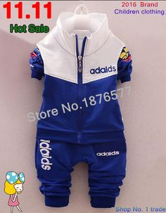 4d05b4f16359 Find More Clothing Sets Information about 2016 Spring New Brand Sport Suits  baby boy clothing boy