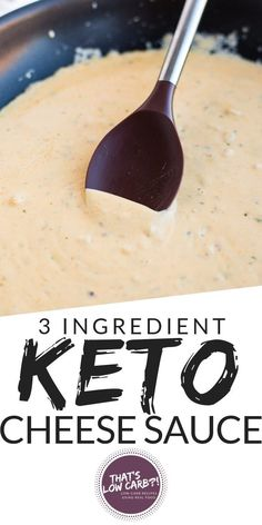 Keto Cheese Sauce recipe that will become the recipe you make almost every single night from here on out. Packed with flavor to spoon over your favorite low carb vegetables or meat. via My Keto Diet ❤️‍ Keto Foods, Ketogenic Recipes, Low Carb Recipes, Diet Recipes, Ketogenic Diet, Meatless Recipes, Recipes Dinner, Appetizer Recipes, Dessert Recipes