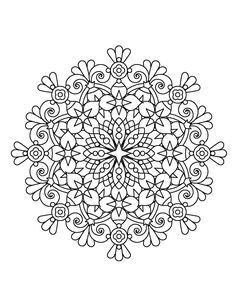 Magical Mandalas for Adults Who Color - Live Your Life in Color Series – Coloring Book Zone