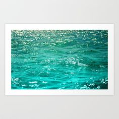 SIMPLY SEA Art Print by Catspaws - $20.00