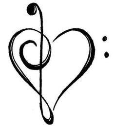 Music heart.