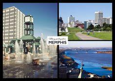 Memphis lässt grüssen | Urlaubsgrüße | Echte Postkarten online versenden…