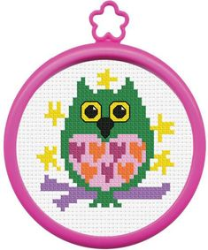 My 1st Stitch Owl - Beginner Cross Stitch Kit