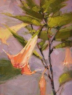 "Daily Paintworks - ""Flora and Fauna"" - Original Fine Art for Sale - © Laurel Daniel"