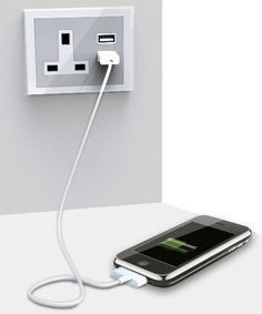 USB Plug Socket - I can not tell you the number of times I have my USB Charger Lead and can not find the USB Plug