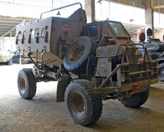 south African military vehicles - a little Mad Max Army Vehicles, Armored Vehicles, Armored Car, Military Weapons, Military Equipment, Panzer, War Machine, Armed Forces, Drones