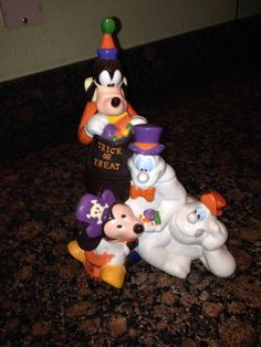 Mickey & Friends Halloween Cookie Jar