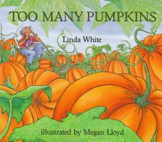 Great Books For #Halloween : Too Many #Pumpkins