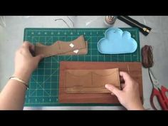 Leather Sew Along with Hammered Leatherworks using the Long Wallet Kit - YouTube