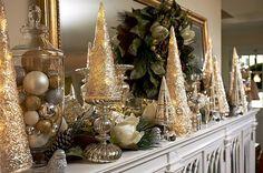 Elegant Christmas, Winter Christmas, Christmas Home, Christmas Trees, Christmas Villages, Victorian Christmas, Christmas Christmas, Vintage Christmas, Christmas Ornaments