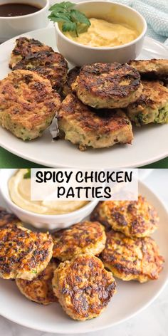 Spicy chicken patties are a really simple easy recipe and can be used for wraps salads sliders with a sauce or alongside some eggs with breakfast. Paleo gluten-free and whole these patties will become a new favorite! Spicy Recipes, Gluten Free Recipes, Healthy Dinner Recipes, Whole Food Recipes, Cooking Recipes, Paleo Recipes Lunch Easy, Whole 30 Easy Recipes, Whole 30 Meals, Whole 30 Drinks