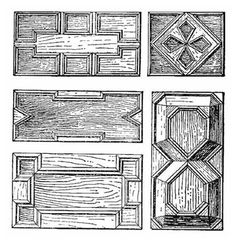 Jacobean Panels with Applied Mouldings