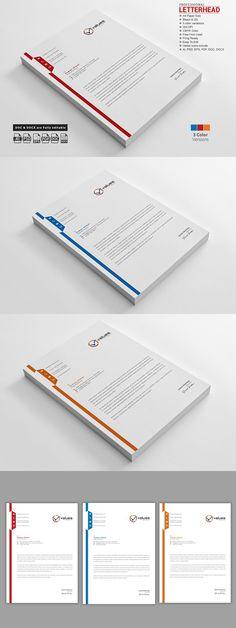 Rando Letterhead Template Design Letterhead template, Letterhead - corporate letterhead template