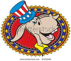 Stock Images similar to ID 115222780 - isolated donkey cartoon...
