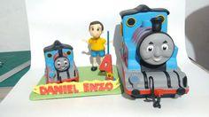 "Topo de Bolo ""Thomas & Friends"""