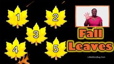In this video Miss Tracey teaches children the colors of the Fall leaves. They will also practice counting leaves from 1 to LittleStoryBug's Preschool Son. Fall Preschool Activities, Thanksgiving Preschool, Preschool Songs, Preschool Education, Preschool Learning, Teaching Kids, Circle Time Songs, Toddler Dance, Autumn Theme