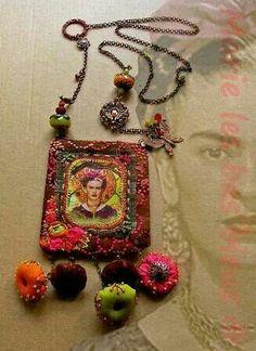 Love, love, love! Frida from http://basbleu.canalblog.com/