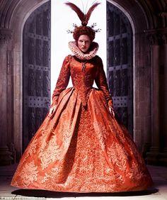 Cate Blanchett in Elizabeth: The Golden Age (2007), wearing Elizabethan dress by Alexandra Byrne