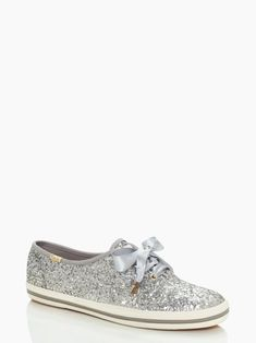 I wish I'd had these glittery Keds for my wedding! They might just be bought to go under long holiday dresses this year.