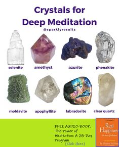 The Meditation Blr Power Of Meditation, Meditation Crystals, Chakra Meditation, Chakra Crystals, Crystals And Gemstones, Stones And Crystals, Crystal Healing Chart, Wiccan Crafts, Witch Craft