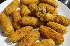 Bolinhos de Mandioca com Carne Seca