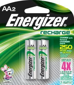 Introducing Energizer NH15BP2 AA Nickel Rechargeable Batteries 2Pack. Get Your Ladies Products Here and follow us for more updates!