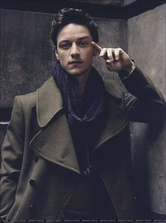 James McAvoy and a stylish trenchcoat! Cofigure your own at http://www.tailor4less.com/en/men/custom-trench-coats/configure