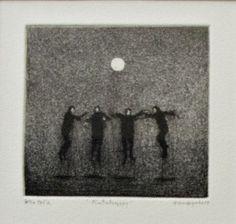 Hannu Hyrske | Pintahyppy /etsaus/akvatinta Gray Color, Colour, Etchings, Printmaking, Artworks, Elephant, Grey, Artist, Ideas
