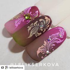 #Repost @lelikserkova (@get_repost)  ・・・  Мне кажется очень даже осенние получились сочетания  Скоро курсы по вензелям вот захотелось новеньких красок