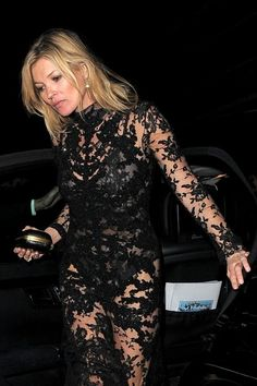 Kate Moss Photos: Alexander McQueen Savage Beauty Afterparty