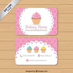 Cartão da padaria