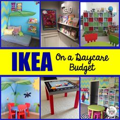 Over 45+ photos featuring how Childcare Provider's use IKEA products in their Spaces.
